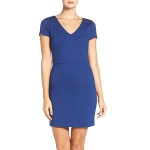 french connection lula pointe sheath dress